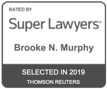 Brooke Murphy Rated by Super Lawyers Selected in 2019